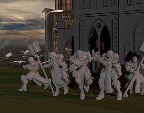 Sisters of War - Command Retinue 3D print model
