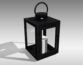 Metal Lantern 02 3D model