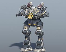 Goliath BattleMech 3D asset