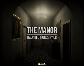3D model The Manor - Haunted House Pack