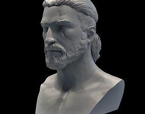 Witcher Geralt of Rivia 3D print