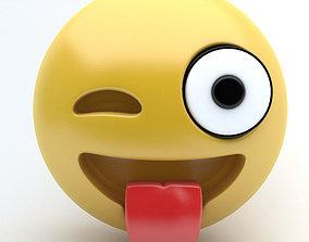 3D model Emoji tongue