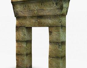 Egyptian Gate 3D model