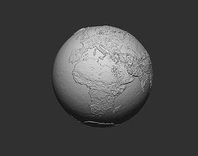 Earth 3D printable model