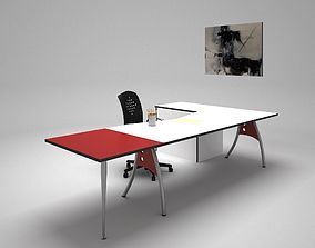 3D model realtime Study Table