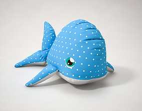 3D model Stuffed Toy Dolphin sport