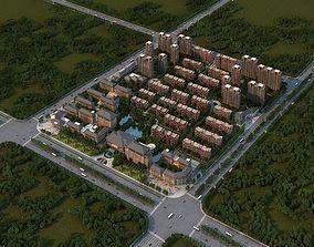 Large urban communities 3D