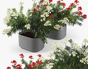 3D model Urbilis Mod Planter 01