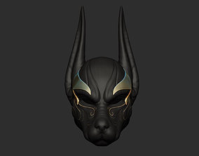 Anubis Helmet For Cosplay 3D print model scary