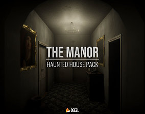 3D model The Manor - Haunted House Pack - Unreal Engine