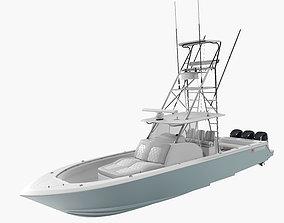 Contender 39 FA Sport Fishing Boat 3D model
