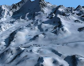 Mount Qomolangma 3D model