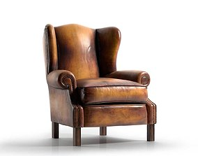 design 3D model Henry Thoreau Armchair