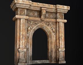Gothic Stone Arch 3D asset