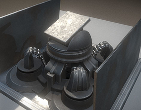 Animated Tower 3D model