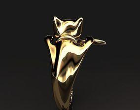 Ring cat 017 3D printable model