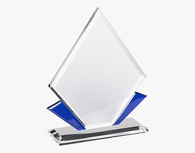 Glass trophy 01 3D model