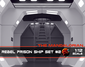 The Mandalorian - Rebel Prison Ship 2 - 3D print model 3