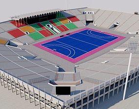National Hockey Stadium Lahore - Pakistan 3D model