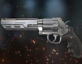 3D asset Revolver 500 MAGNUM COMPETITOR