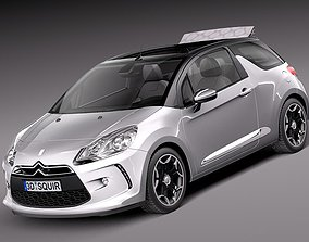 Citroen DS3 Cabrio -2013 3D model