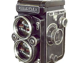 3D model Rolleiflex Camera
