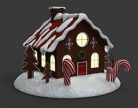 3D printable model Gingerbread house