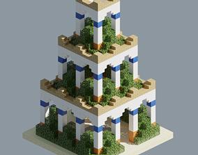 Ancient Gardens 3D model