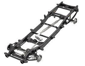 3D HD PICKUP TRUCK CHASSIS 4WD IFS part