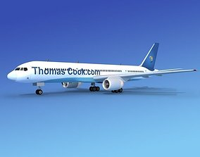 3D model Boeing 757-200 Thomas Cook Airlines