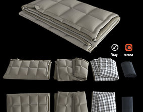 3D model Blanket collection 06