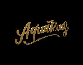 ZODI-002 Aquarius Gold 3D model