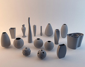 Vases collection 3D model