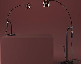 3D model Hercules Table Lamp