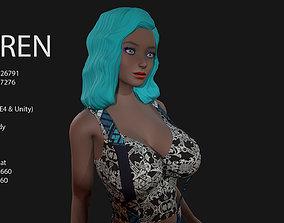 Keren Style IX GIRL 3D model
