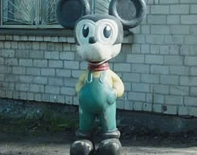 CHERNOBIL MICKEY MOUSE PRIPYAT 3D printable model