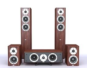 3D model Audio Equipment Set