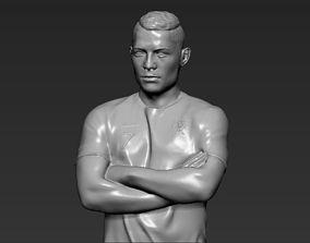 Cristiano Ronaldo Portugal 3D printing ready stl obj
