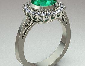 3D print model ring-silver Jewelry Ring Women