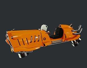 3D model Dieselpunk Car