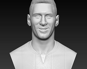 Lionel Messi - FC Barcelona - player bust 3D high 1