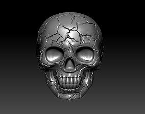 man 3D print model skull ring