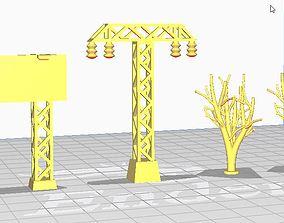 3D print model BattleHex Decor set 01