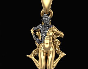 Pendant Transformation 3D printable model demon