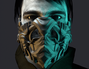 3D print model style Mask Cover Mask - JUNGLE