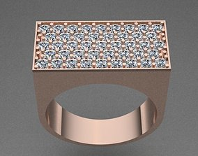 3D printable model Unisex Diamond Ring