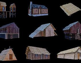 Medieval town 3D