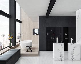 3D Bathroom 2 pbr