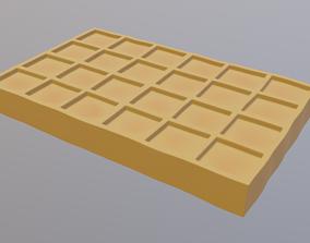 Waffle desert 3D