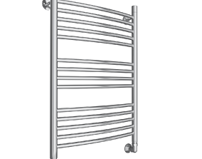 lux towel rail 3D